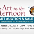 Benefit Art Auction & Sale on March 10